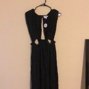 NWT swimsuitsforall black dress size 10/12